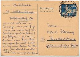 Sost. NÄHMASCHINEN WITTENBERGE 1975 AUF DDR P80 Postkarte - Textil
