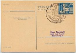 Sost. NATIONALTHEATER WEIMAR 1973  DDR P80 Postkarte - Theatre