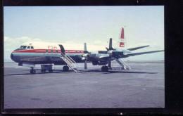 AK   Pacific Southwest  Airlines Lockheed L-188   Karte Nicht Gel.