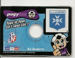 JEU-2001-CD-POGYFOOT-A-J- AUXERRE-TBE - Autres