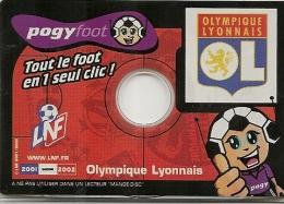JEU-2001-CD-POGYFOOT-OLYM PIQUE LYONNAIS-TBE - Autres