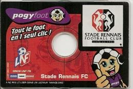 JEU-2001-CD-POGYFOOT-STAD E RENNAIS-TBE - Jeux électroniques