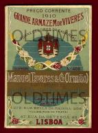 PORTUGAL - GRANDE ARMAZEM DE VIVERES - CATALOGO DE PRODUTOS - 1910 OLD CATALOGUE - Books, Magazines, Comics