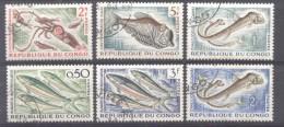 Congo 1961/4 Fishes, Used AE.209 - Congo - Brazzaville