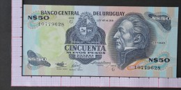 URUGUAY  50  PESOS  1989    -  (Nº07774) - Uruguay