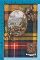 Scott's Country  (BUCHANAN Scottish Clan Tartan Crest Loch Katrine  C. 1909)  2 SCAN - Histoire