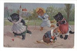 9715 -  Chats  Jeux Et Cerceaux - Thiele, Arthur