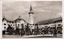MAROSVASARHELY (Siebenbürgen, Rumänien) - Vàrcshàza ès Közmüvelödèsi Hàz, Fotokarte 1935? - Rumänien