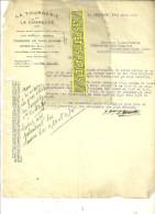 39 - Jura - LA CHAPELLE - Facture TOURNERIE DE LA CHAPELLE – 1933 - REF 42 - Other