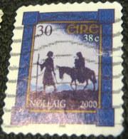 Ireland 2000 Christmas 30p - Used - 1949-... Repubblica D'Irlanda