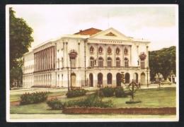 BELÉM - PARÁ - Teatro Da Paz - Brasil Brazil ( 2 Scans ) - Belém