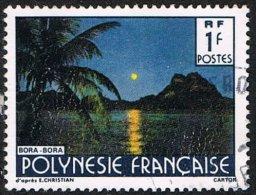 French Polynesia SG468a 1989 Landscapes 1f Good/fine Used - French Polynesia