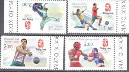 2008. Tajikistan, Olympic Games Beijing 2008, 4v In Block, Mint/** - Tadschikistan