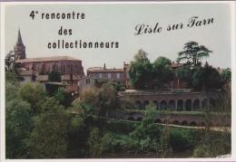 M J C – Télécarte ° LISLE/Tarn °=° N° 7 ° 4ème RDV Novembre 1992 ° Eglise Et Palais ° Carte 0393 // 1000 Ex. - Autres