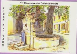 M J C – Télécarte ° LISLE/Tarn °=° N° 15 ° 11ème RDV Novembre 1999 ° Place Du Barry ° 500 Exemplaires - Postales