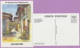 M J C – Télécarte ° LISLE/Tarn °=° N° 14 ° 10ème RDV Novembre 1998 ° La  Rue  Mirabelle ° 500 Exemplaires - Autres