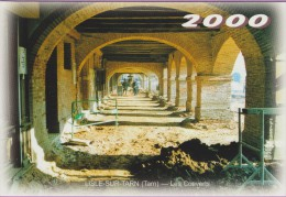 M J C – Télécarte ° LISLE/Tarn °=° N° 16E ° 12ème RDV Novembre 2000 ° Rénovation Des Couverts Saissac ° 500 Exemplaires - Cartes Postales