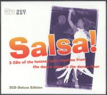 SUPER COMPILATION 3 CD SALSA DELUXE EDITON TRES RARE PORT OFFERT - World Music