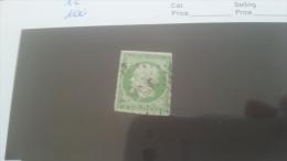 LOT 212660 TIMBRE DE FRANCE OBLITERE N�12 VALEUR 100 EUROS