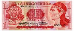 HONDURAS 1 LEMPIRA 1989 Pick 68c Unc - Honduras