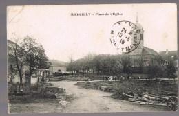 MARCILLY . Place De L'Eglise . - France