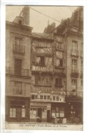 CPSM NANTES (Loire Atlantique) - Vieille Maison Rue De Verdun - Nantes