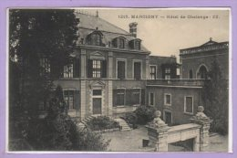 71 - MARCIGNY -- Hôtel De Chalonge - France