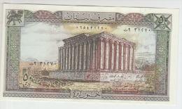 Lebanon 50 Livres  1983  Pick 65 UNC - Liban
