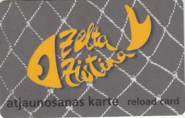 LATVIA - Baltkom Recharge Card, Used - Latvia