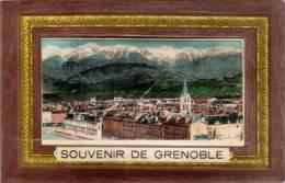 VILLE, Système DEPLIANT – Souvenir De Grenoble - Grenoble