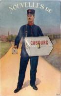 VILLE, DEPLIANT – Cabourg - Facteur - Cabourg