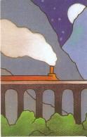CALENDARIO DEL AÑO 1998 DE UN TREN (CALENDRIER-CALENDAR) TREN-TRAIN-ZUG - Calendarios