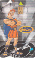 SOUTH AFRICA - Disney/Hercules, Telkom Telecard, Exp.date 10/02, Used - Afrique Du Sud
