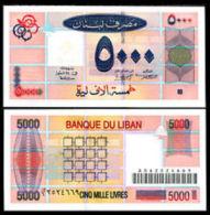 Lebanon 5000 Livres  2001  Pick 79 UNC - Lebanon