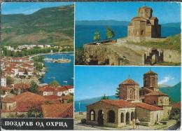 MK.- Het Klooster Sveti Naum Gelegen In De Republiek Macedonië. Ohrid Meer. Jugoslavija. 2 Scans - Joegoslavië