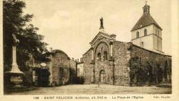 SAINT FELICIEN - ARDECHE  (07) -  CPA. - France
