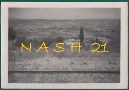 Photographie Originale -  Algérie ,  Juillet 1941 ''  Environs De Sidi-Bel-Abbès  '' - Guerre, Militaire