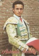 CALENDARIO DE ESPAÑA DEL AÑO 1997 DEL TORERO ANTONIO FERRERA  (TORO-BULL) (CALENDRIER-CALENDAR) - Tamaño Pequeño : 1991-00