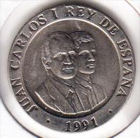 ESPAÑA 1991. 200 PESETAS CIBELES.MADRID CAPITAL CULTURA EUROPEA  .SIN CIRCULAR.RARA . CN 4024 - [ 5] 1949-… : Reino