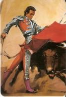 CALENDARIO DE ESPAÑA DEL AÑO 1993 DE UN TOTO Y UN TORERO  (TORO-BULL) (CALENDRIER-CALENDAR) - Calendarios