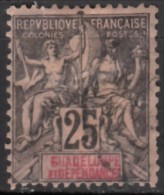 N° 34 - O - - Guadeloupe (1884-1947)