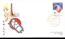 SAPPORO WINTER OLIMPIC GAME 1972 BOB A DUE - Inverno