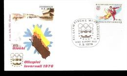 XII GIOCHI OLIMPICI DI INNSBRUCK 1976 BOB PATTINAGGIO ARTISTICO - Inverno