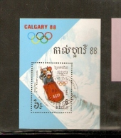KAMPUCHEA CALGARY OLIMPIC GAME 88 BOBSLED - Inverno