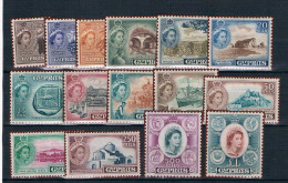 Chipre. Serie Completa  Ivert 156/170* Valor 115 Euros - Cyprus (...-1960)