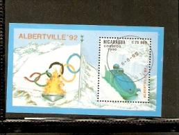 NICARAGUA BOBSLED ALBERTVILLE 1992 - Inverno
