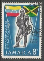 Jamaica. 1966 150th Anniv Of ´Jamaica Letter´. 8d Used - Jamaica (1962-...)