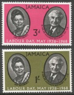 Jamaica. 1968 Labour Day. MH Complete Set - Jamaica (1962-...)