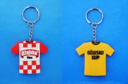 OZUJSKO BEER  - Croatian Keyring Bière Bier Cerveza Birra Keychain Key-ring Porte-clés Schlüsselring Anello Portachiavi - Key-rings