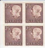 Zweden Michel 478 DL+DR+ELO+ERO Cat. 4.00€ ** - 1951-80